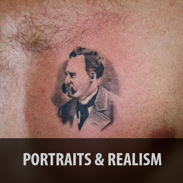 Portraits and Realism Tattoos